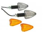 Blinker Set M8 LED schwarz Boost II